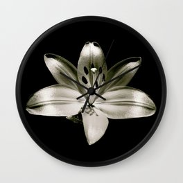 Lily Limelight Wall Clock