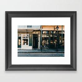 The French Quarter Framed Art Print