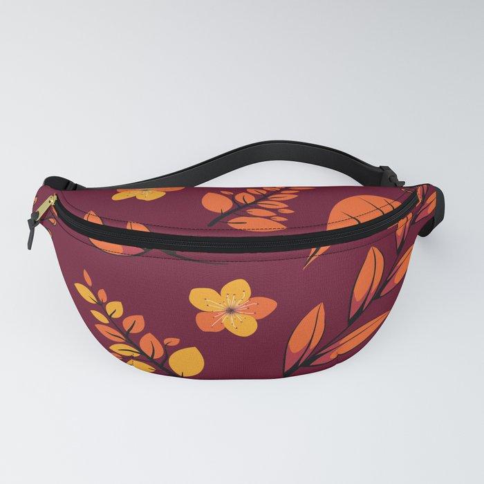 Flower Design Series 22 Fanny Pack