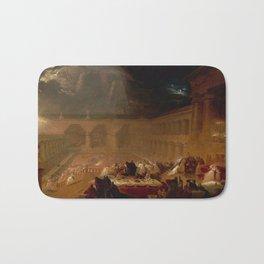 Belshazzar's Feast by John Martin (1821) Bath Mat