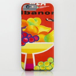 old placard mea lebanon middle east airlines lebanon iPhone Case