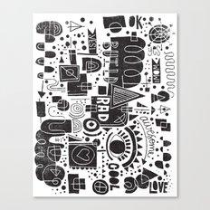 BUILD A CITY Canvas Print
