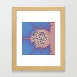 Electric Leg Warmers Framed Art Print