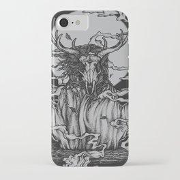 DREAMTIME - BLACK iPhone Case