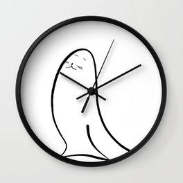Happy Seal Wall Clock