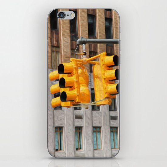Traffic lights iPhone & iPod Skin