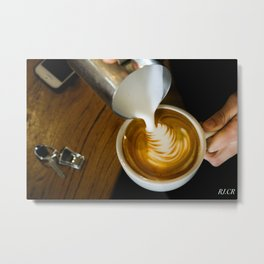 Todays Coffee Metal Print