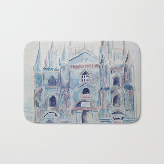 the castle in the clouds Bath Mat