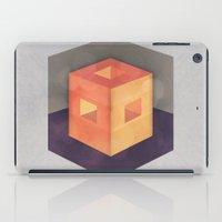 pixel iPad Cases featuring Pixel by Camilo Bejarano