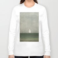 sailing Long Sleeve T-shirts featuring Sailing by Honey Malek