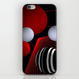 converging lines -4- iPhone Skin