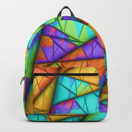 Colorful Slices Backpack