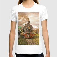 train T-shirts featuring Train by Alejandra Triana Muñoz (Alejandra Sweet