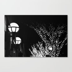 Light Blur Canvas Print