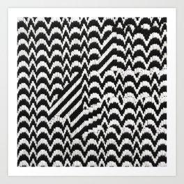 Bargello Interrupt Art Print