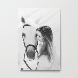 The Moment Metal Print