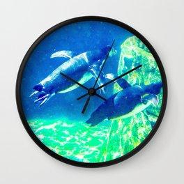 Two Pebbles Wall Clock