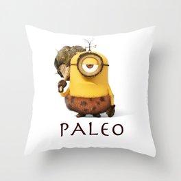 Paleo Minion Throw Pillow
