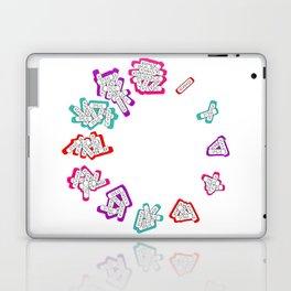 xano'clock Laptop & iPad Skin