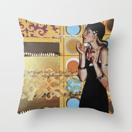 Drink Wine That's Old  Throw Pillow