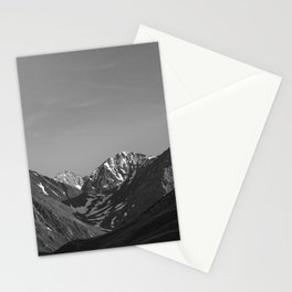 California's Sierra Mountains - B & W Stationery Cards