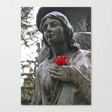Lady of stone Canvas Print