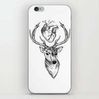 cargline iPhone & iPod Skins featuring Hipster Deer by cargline
