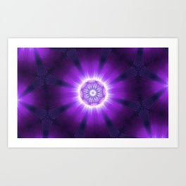 Kaleidoscope 'K3 SN' Art Print