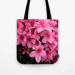 Asiatic Azaleas Tote Bag