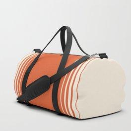 Marmalade & Crème Vertical Gradient Duffle Bag