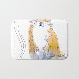 Foxy Tea Bath Mat