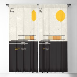 Farnsworth Modern House Blackout Curtain