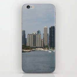 Chicago Shoreline, Skyline, Lake Michigan iPhone Skin