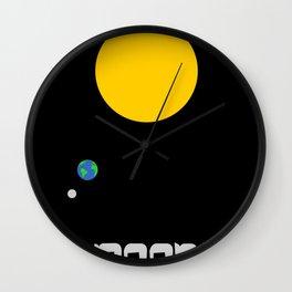 The Moon in Minimal Wall Clock