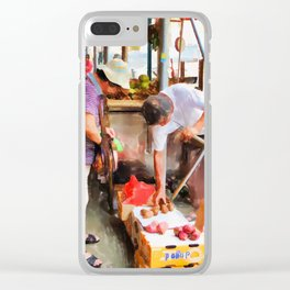 Street Vendors 1 Clear iPhone Case