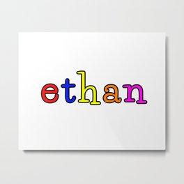 ethan Metal Print