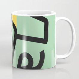 absurd green Coffee Mug