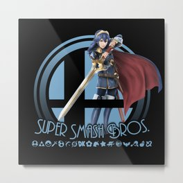 Lucina - Super Smash Bros. Metal Print