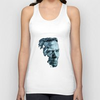 clint eastwood Tank Tops featuring Clint Eastwood by artbyolev