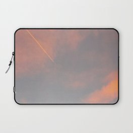 Contrail Clouds Laptop Sleeve