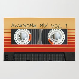 Awesome Mix Cassette Vol.1 Rug