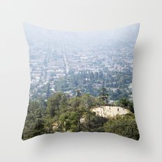 Los Angeles Hikers Throw Pillow