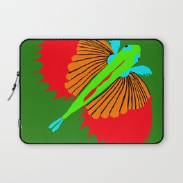 The Spectacular Flying Fish Laptop Sleeve
