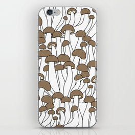 Beech Mushrooms iPhone Skin