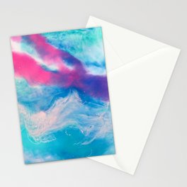 Coral lights 2 Stationery Cards