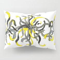 Swirling Ribbons Pillow Sham