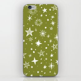 Multiple shapes and sizes stars IV iPhone Skin