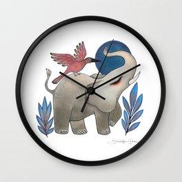 Save the Elephants Wall Clock