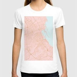 Palermo map T-shirt