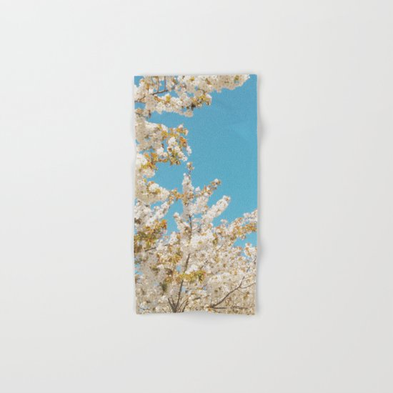 Wave of Flowers Hand & Bath Towel